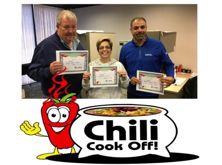 Chili Cook Off winners 1